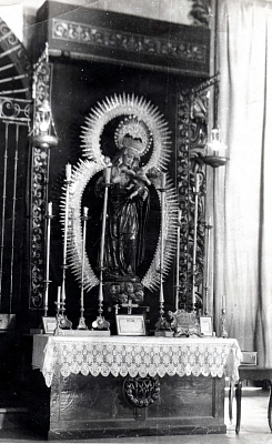 La Virgen en  San Lorenzo. 1939.